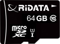 Карта памяти RiDATA microSDXC Class 10 UHS-I 64Gb