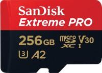 Карта памяти SanDisk Extreme Pro V30 A2 microSDXC UHS-I U3 256Gb