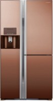 Холодильник Hitachi R-M700GPUC2X MBW коричневый