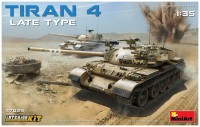 Сборная модель MiniArt Tiran 4 Late Type 37029 (1:35)