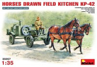 Фото - Сборная модель MiniArt Horses Drawn Field Kitchen KP-42 (1:35)