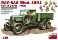 Фото - Сборная модель MiniArt GAZ-AAA Mod. 1941 Cargo Truck (1:35)