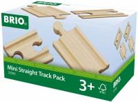 Автотрек / железная дорога BRIO Mini Straight Track Pack 33393