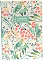Блокнот Hiver Books Plain Notebook Greenery A5