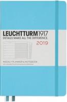 Ежедневник Leuchtturm1917 Weekly Planner Notebook Ice Blue