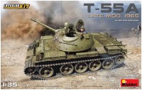 Фото - Сборная модель MiniArt T-55A Late Mod. 1965 (1:35)