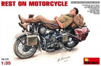 Сборная модель MiniArt Rest on Motorcycle (1:35)