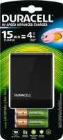 Зарядка аккумуляторных батареек Duracell CEF27 + 2xAA 1300 mAh + 2xAAA 750 mAh