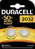 Аккумуляторная батарейка Duracell  2xCR2032 DSN