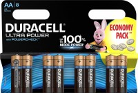 Аккумуляторная батарейка Duracell  8xAA Ultra Power MX1500