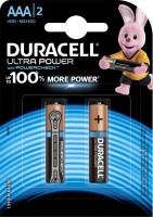 Фото - Аккумуляторная батарейка Duracell  2xAAA Ultra Power MX2400