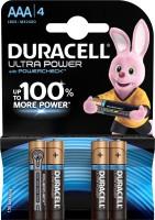 Фото - Аккумуляторная батарейка Duracell  4xAAA Ultra Power MX2400