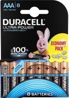 Фото - Аккумулятор / батарейка Duracell  8xAAA Ultra Power MX2400