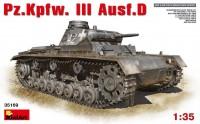 Сборная модель MiniArt Pz.Kpfw.III Ausf.D (1:35)