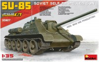 Сборная модель MiniArt SU-85 Soviet Self-Propelled Gun (1:35)