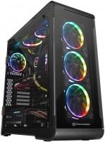 Корпус Thermaltake View 32 Tempered Glass RGB Edition черный