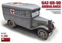 Фото - Сборная модель MiniArt GAZ-03-30 Ambulance (1:35)