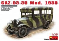Фото - Сборная модель MiniArt GAZ-03-30 Mod. 1938 (1:35)