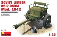 Фото - Сборная модель MiniArt Soviet Limber 52-R-353M Mod. 1942 (1:35)
