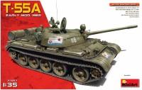 Сборная модель MiniArt T-55A Early Mod. 1965 (1:35)