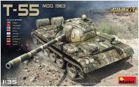 Сборная модель MiniArt T-55 Mod. 1963 (1:35)