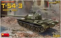 Фото - Сборная модель MiniArt T-54-3 Mod. 1951 37007 (1:35)