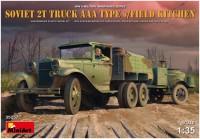 Фото - Сборная модель MiniArt Soviet 2 Ton Truck AAA Type w/Field Kitchen (1:35)