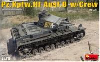 Фото - Сборная модель MiniArt Pz.Kpfw.III Ausf.B w/Crew (1:35)