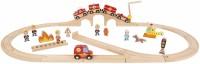 Автотрек / железная дорога Janod Story Express J08539
