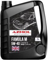 Моторное масло Azmol Famula M 5W-40 5L