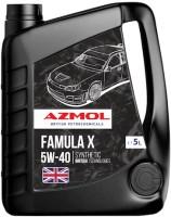 Моторное масло Azmol Famula X 5W-40 5L