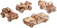 3D пазл Wood Trick Set of Cars