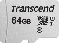 Карта памяти Transcend microSDXC 300S  64ГБ