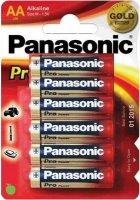Аккумуляторная батарейка Panasonic Pro Power  6xAA