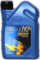 Моторное масло Fosser Premium Longlife IV 0W-20 1L
