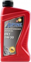 Моторное масло Alpine DX1 5W-30 1л