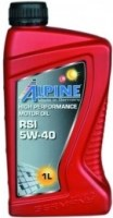 Моторное масло Alpine RSi 5W-40 1л