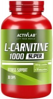 Сжигатель жира Activlab L-Carnitine 1000 30 cap 30шт