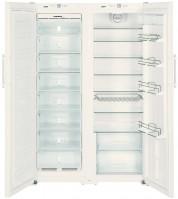 Холодильник Liebherr SBS 7252 белый