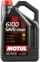 Моторное масло Motul 6100 Save-Clean 5W-30 5 л