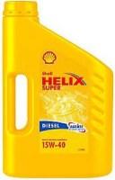 Моторное масло Shell Helix Super Diesel 15W-40 1L