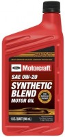 Моторное масло Motorcraft Synthetic Blend 0W-20 1L