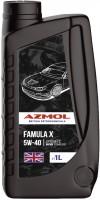 Моторное масло Azmol Famula X 5W-40 1л