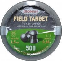 Кулі й патрони Luman Field Target 4.5 mm 0.68 g 500 pcs