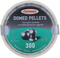 Кулі й патрони Luman Domed Pellets 4.5 mm 0.57 g 300 pcs