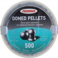 Кулі й патрони Luman Domed Pellets 4.5 mm 0.57 g 500 pcs