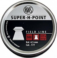 Кулі й патрони Dynamit Nobel Field RWS Super-H-Point 4.5 mm 0.45 g 500 pcs