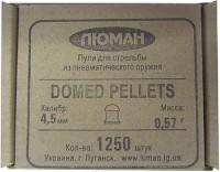Фото - Пули и патроны Luman Domed Pellets 4.5 mm 0.57 g 1250 pcs