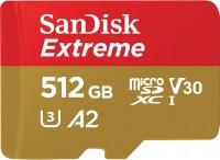Карта памяти SanDisk Extreme V30 A2 microSDXC UHS-I U3 512Gb