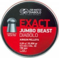 Кулі й патрони JSB Exact Jumbo Beast 5.5 mm 2.2 g 150 pcs